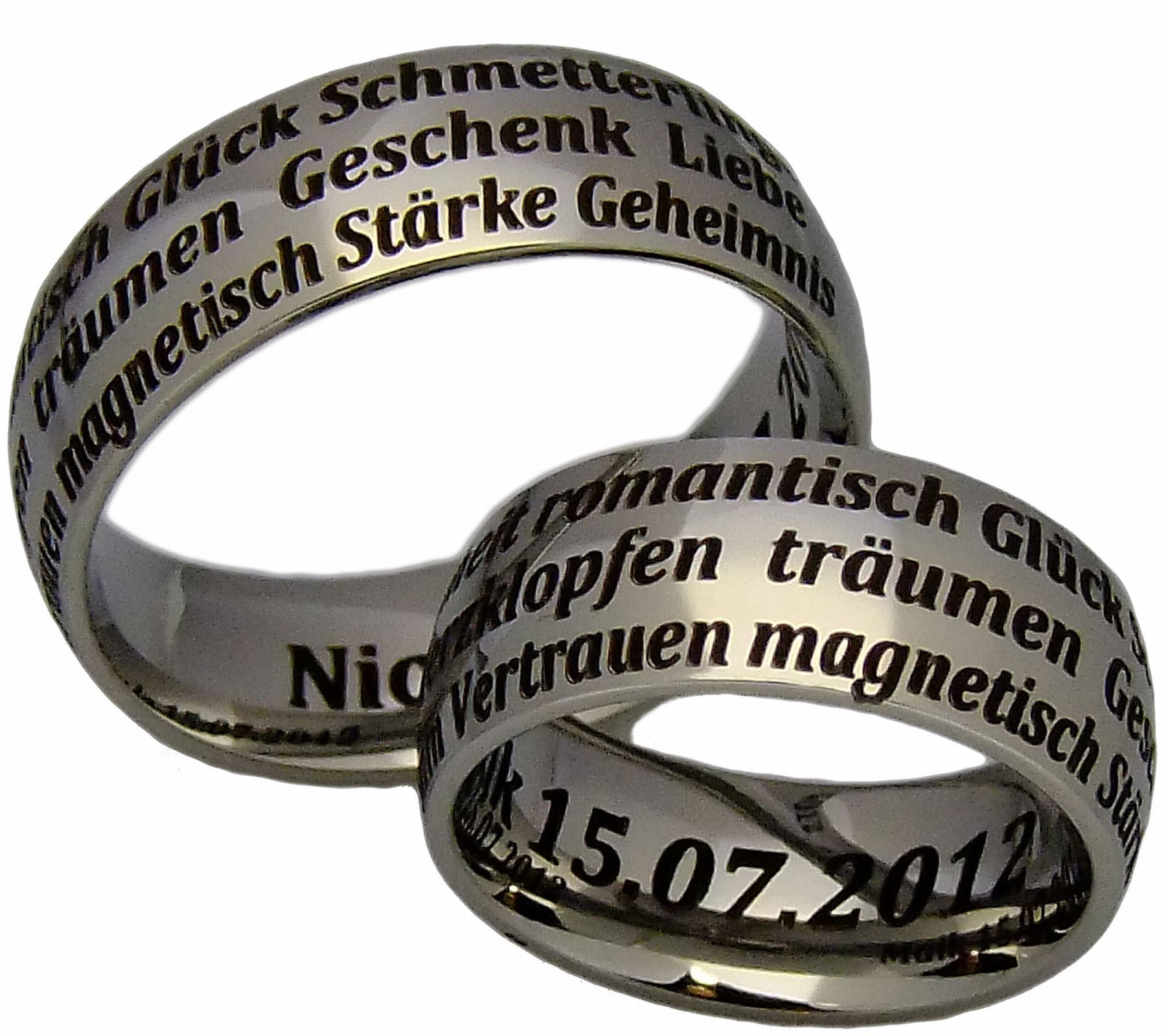 ... Verlobungsringe Hochzeitsringe Eheringe 8 mm & Lasergravur  eBay