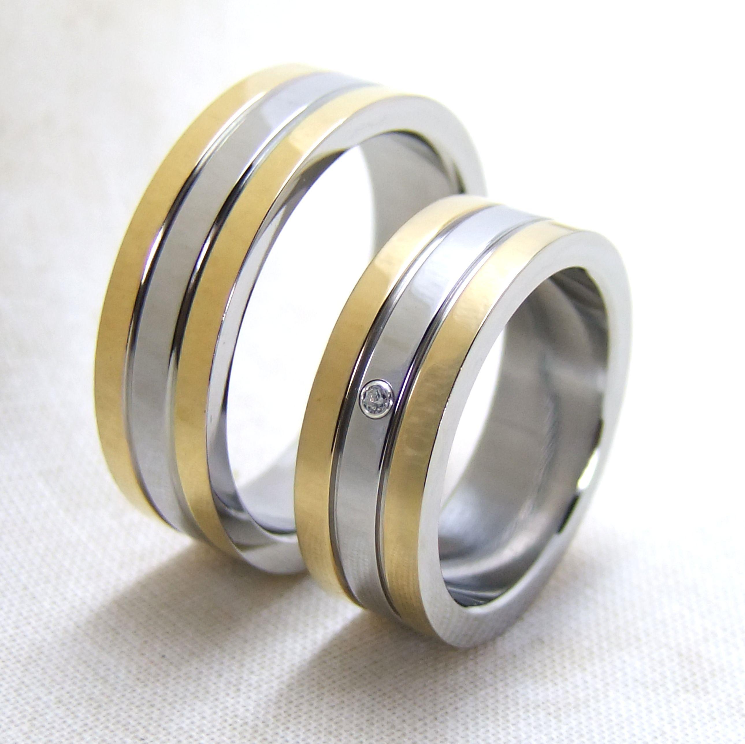 ... Verlobungsring e Trauringe Hochzeitsringe Partnerringe 7 mm & Gravur
